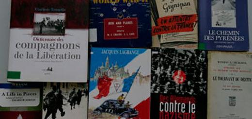 Photo d'une sélection de livres de l'IHTP