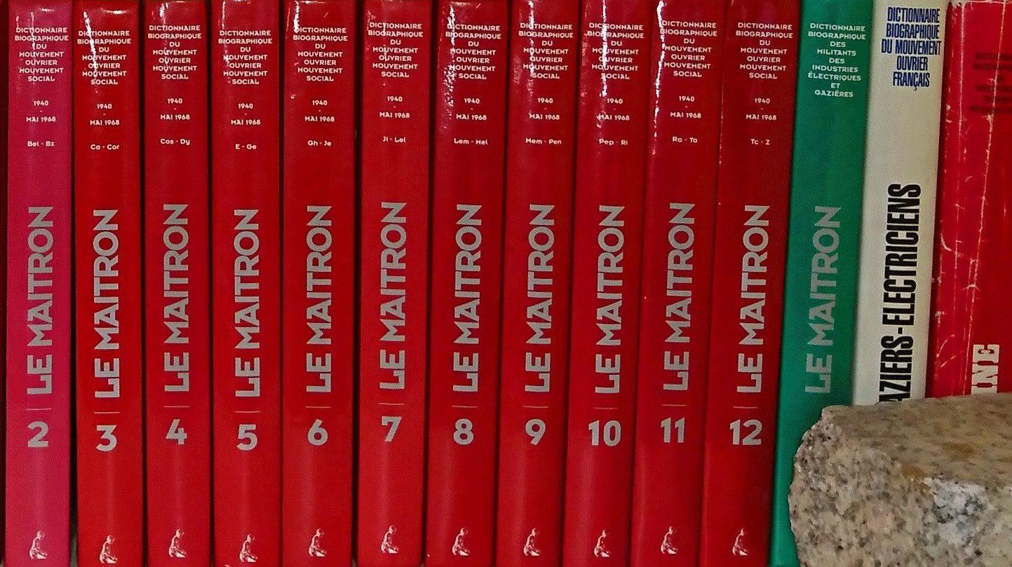 DictionnairesMaitron
